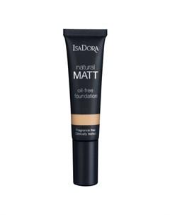 Крем Natural Matt Oil Free Foundation 16 Тональный Матирующий 35 мл Isadora