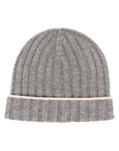 Кашемировая шапка бини Brunello cucinelli