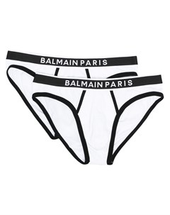 Трусы брифы с логотипом на поясе Balmain