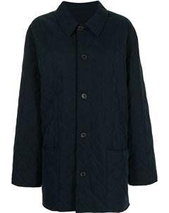 Стеганое пальто pre owned Hermès