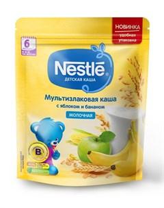 Молочная мультизлаковая каша с яблоком и бананом 220гр Nestle