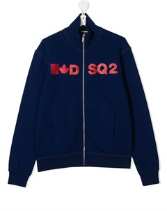 Бомбер с логотипом Dsquared2 kids