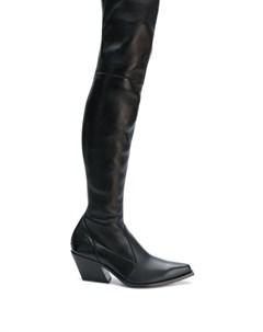 Ботфорты на каблуке Givenchy