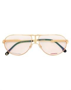 Классические солнцезащитные очки авиаторы Carrera