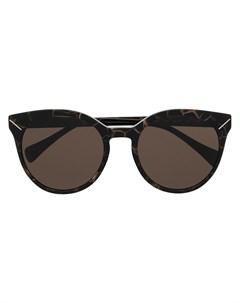 Солнцезащитные очки в оправе кошачий глаз Yohji yamamoto