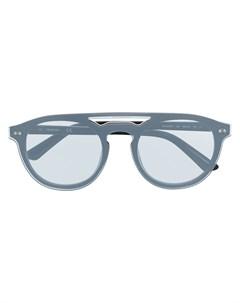 Солнцезащитные очки в круглой оправе Calvin klein
