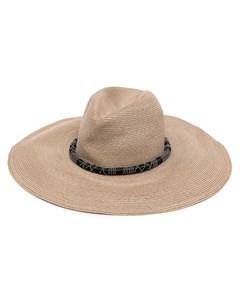 Плетеная шляпа Brunello cucinelli
