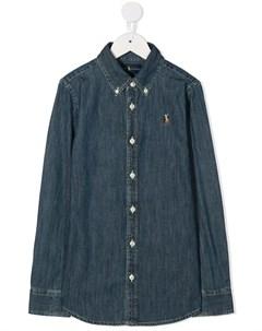 Джинсовая рубашка Ralph lauren kids