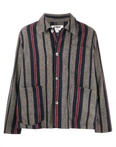 Куртка рубашка в полоску Ymc