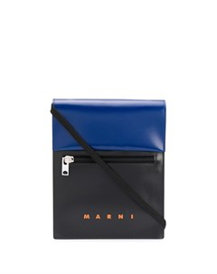 Двухцветная сумка мессенджер Marni