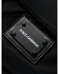 Плавки с кулиской и логотипом Dolce&gabbana