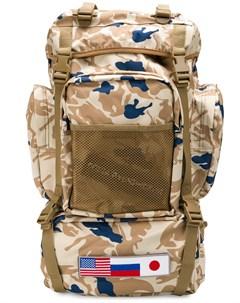 Камуфляжный рюкзак Gosha rubchinskiy