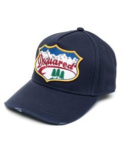 Бейсболка с нашивкой логотипом Dsquared2