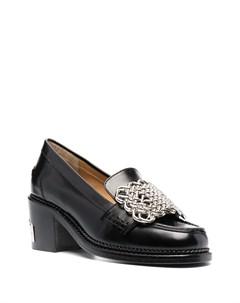 Туфли лодочки с пряжками Toga pulla