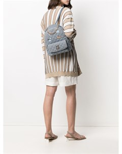 Рюкзак с эмалированной аппликацией Liu jo