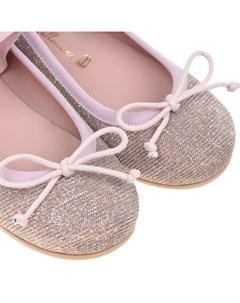 Туфли с эластичным ремешком детские Pretty ballerinas