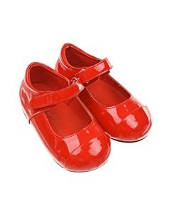 Красные лакированные туфли детские Age of innocence