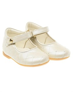 Кожаные туфли со стеганой отделкой детские Missouri