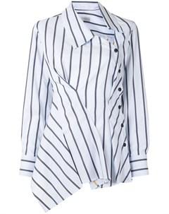 Полосатая рубашка Enata асимметричного кроя Palmer / harding