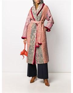 Трикотажное пальто с поясом F.r.s for restless sleepers