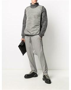 Спортивные брюки с низким шаговым швом 11 by boris bidjan saberi