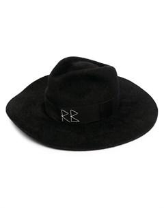 Шляпа федора с кристаллами и искусственным жемчугом Ruslan baginskiy