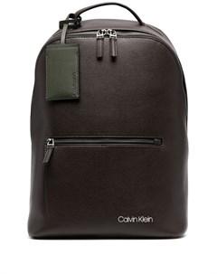 Рюкзак на молнии с логотипом Calvin klein