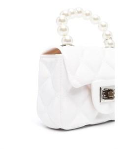 Стеганая сумка на плечо Monnalisa