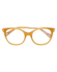 Очки в оправе округлой формы Chloé eyewear