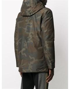 Куртка с камуфляжным принтом Woolrich