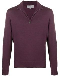 Пуловер с высоким воротником на молнии Canali