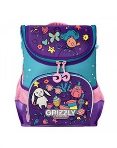 Ранец школьный RAn 082 6 Grizzly