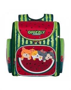 Ранец школьный Арбуз и Котята Grizzly