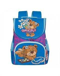 Ранец школьный RAm 084 6 Grizzly