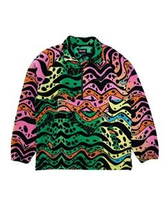 Кофта Hypnotic Brushed Fleece Half Zip Multi 2021 Ripndip