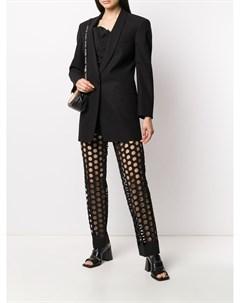 Пиджак с лацканами шалькой Maison margiela