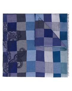 Клетчатый шарф Etro