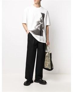 Прямые брюки со складками Juun.j