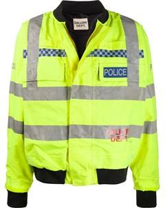 Бомбер Police с логотипом Gallery dept.