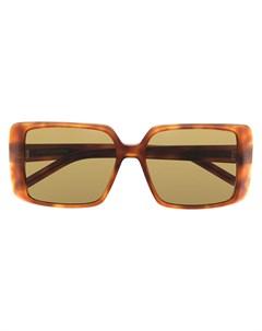 Солнцезащитные очки SL451 в квадратной оправе Saint laurent eyewear