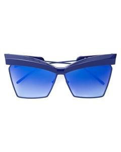Крупные солнцезащитные очки Trixie формы кошачий глаз Jacques marie mage