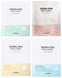 Тканевая маска для лица the saem derma skin mask sheet The saem