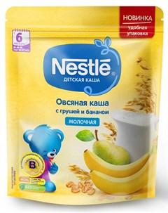 Молочная овсяная каша с грушей и бананом 220гр Nestle
