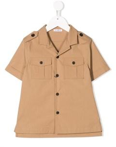 Рубашка с принтом Dolce & gabbana kids