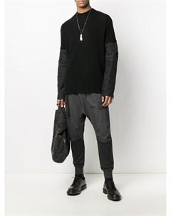 Спортивные брюки со вставками The viridi-anne
