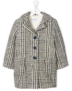 Однобортное пальто Simonetta