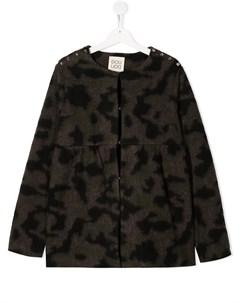 Куртка с абстрактным принтом Douuod kids