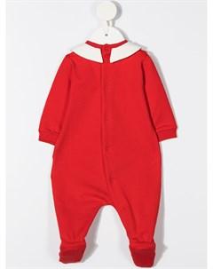 Пижама Teddy Bear с логотипом Moschino kids