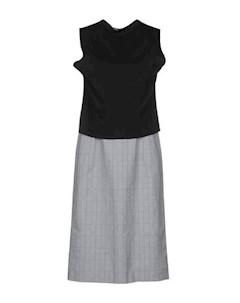 Платье до колена Demna gvasalia
