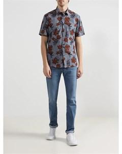 Хлопковая рубашка Lab. pal zileri